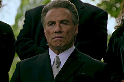 gotti trailer film John Travolta