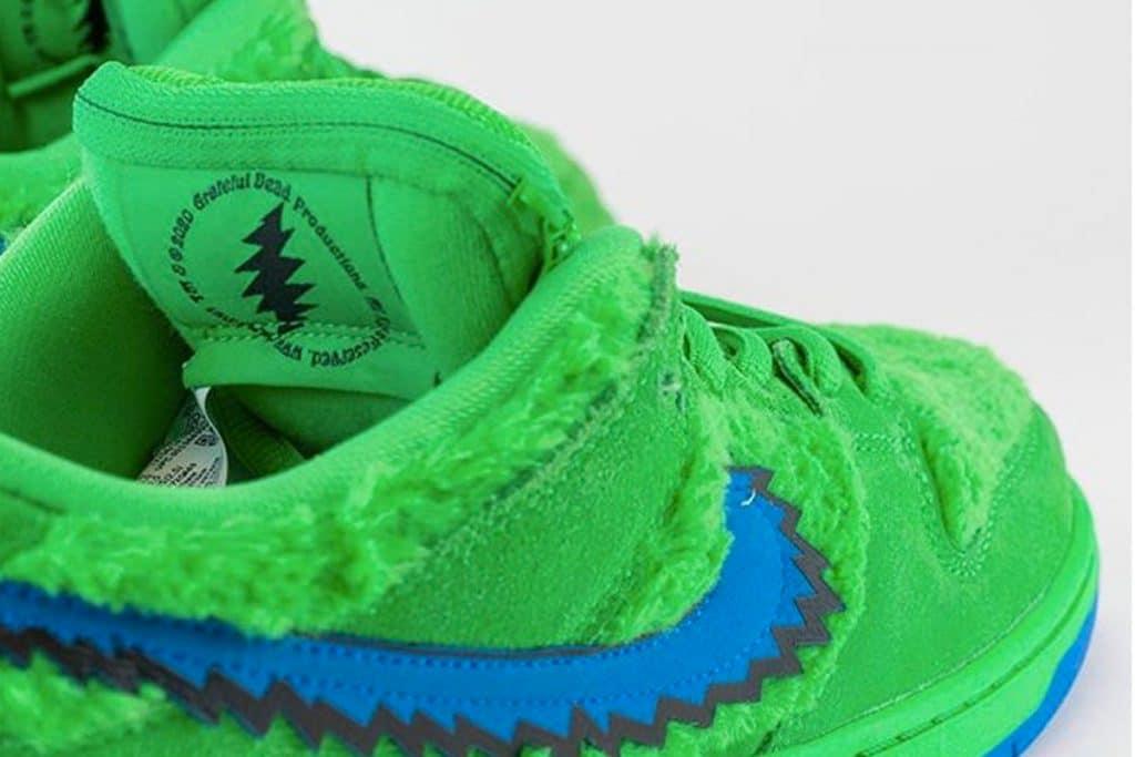 Grateful Dead x Nike SB Dunk Low Grean Bear