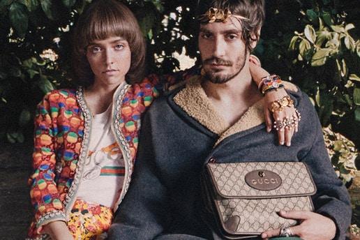 Gucci Cruise 2018 Collectie 'Roman Rhapsody'