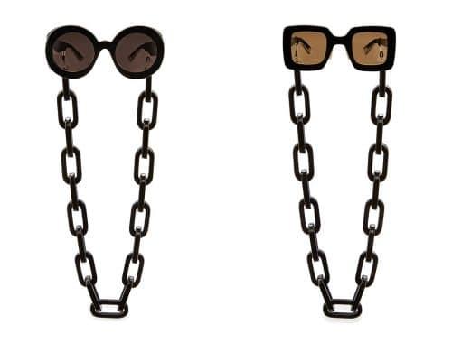 Gucci Eyewear Chains - SS20 Gucci zonnebrillen