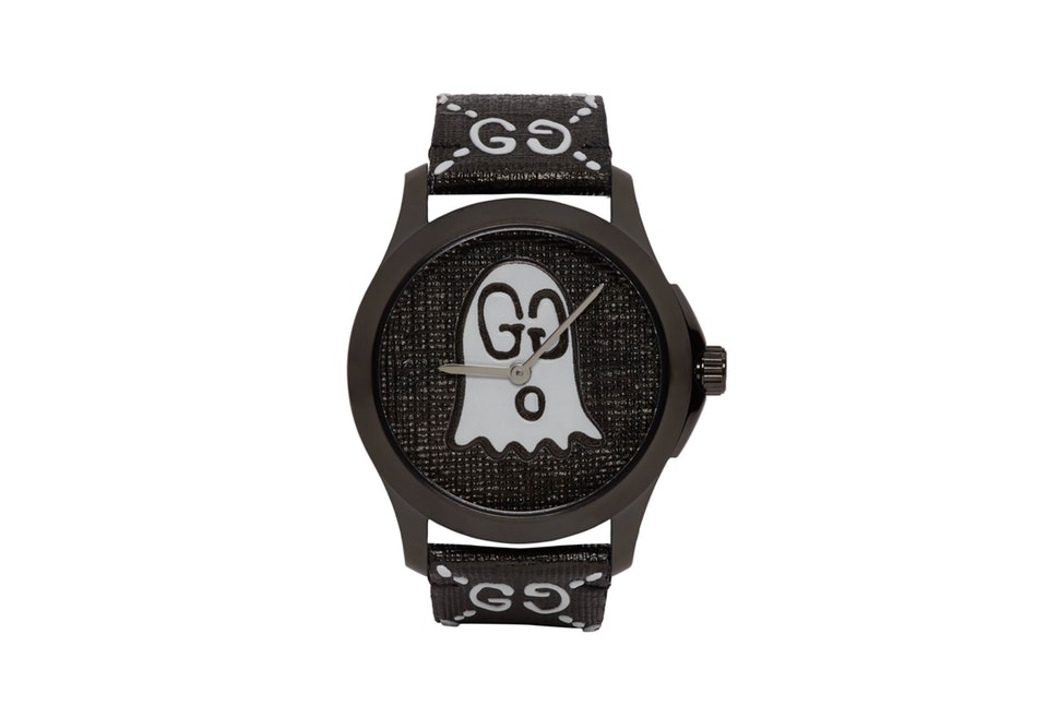 Gucci horloges Black G-Timeless GucciGhost Watch