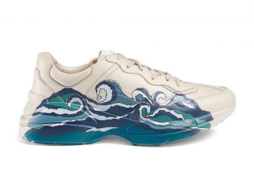 Gucci Rhyton Wave Leather sneaker