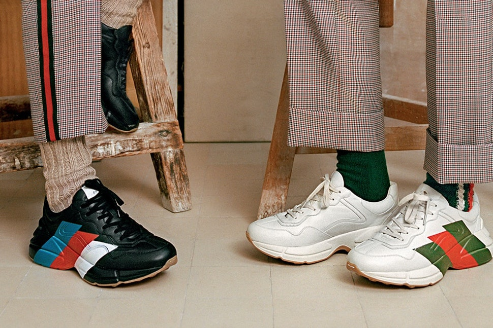 Gucci Rhyton sneaker 2018