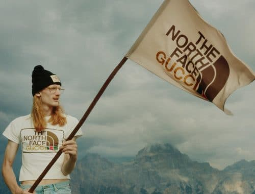 The North Face x Gucci collectie