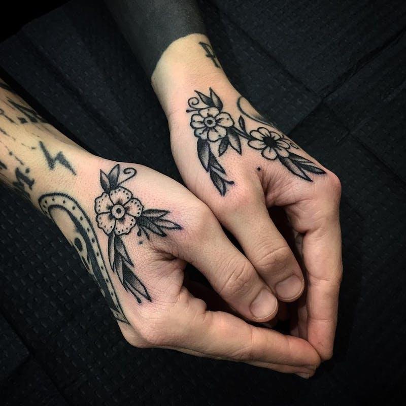 hand tattoos handtattoos