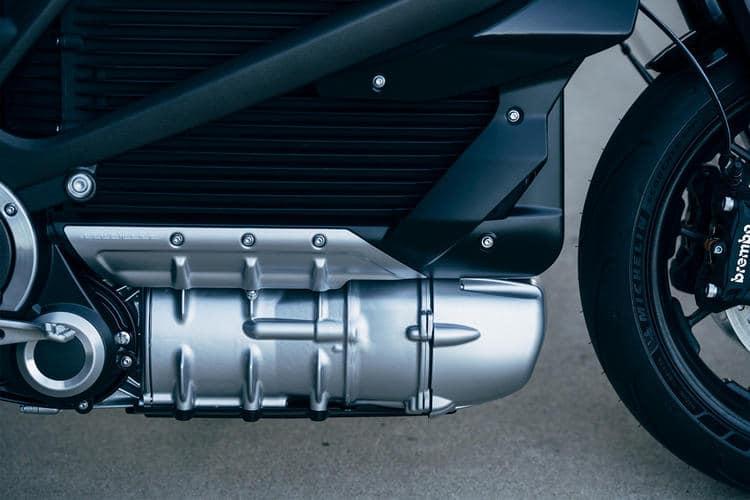 Harley-Davidson LiveWire elektrische motor