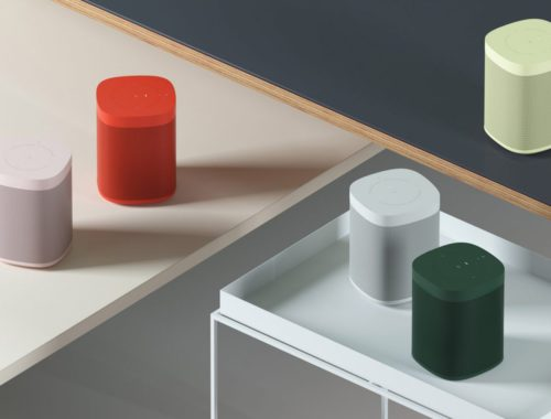 Hay x Sonos One Speakers Milan Design Week