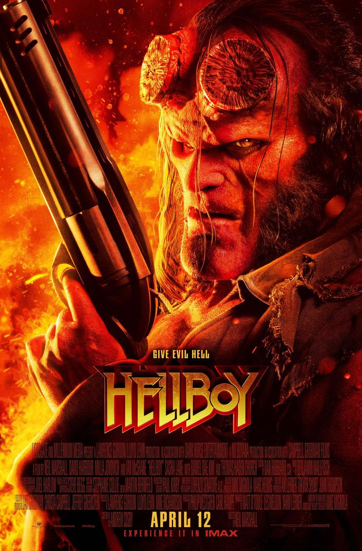 Hellboy Red Band Trailer