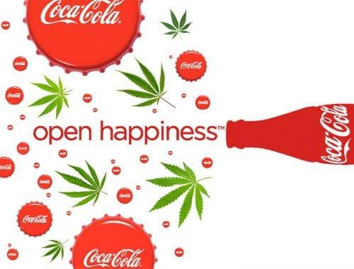 hersteldrankjes met cannabis coca cola