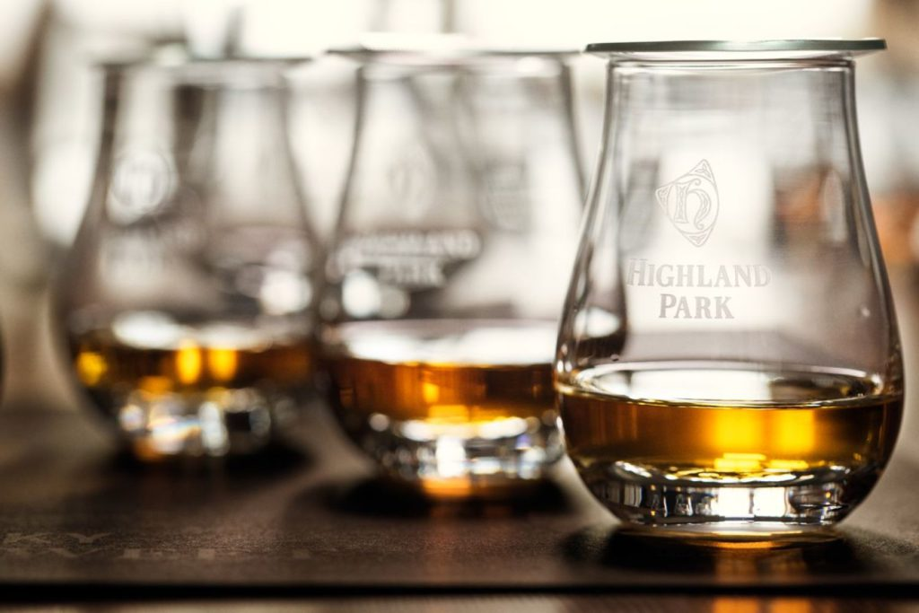 Highland Park scotch whisky
