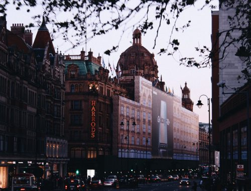 hotel knightsbridge londen tunnel harrods