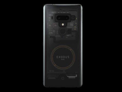 HTC Exodus 1 blockchaintelefoon