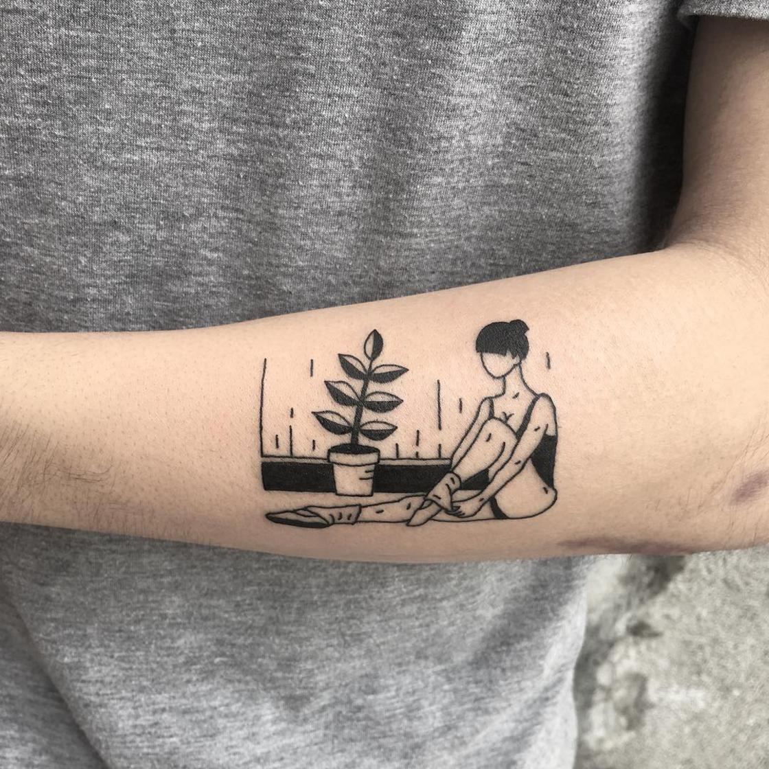 tattoos Hybrid Ink tattoo trends