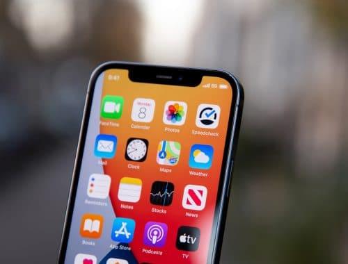 iPhone 13 met 1TB geheugenopslag