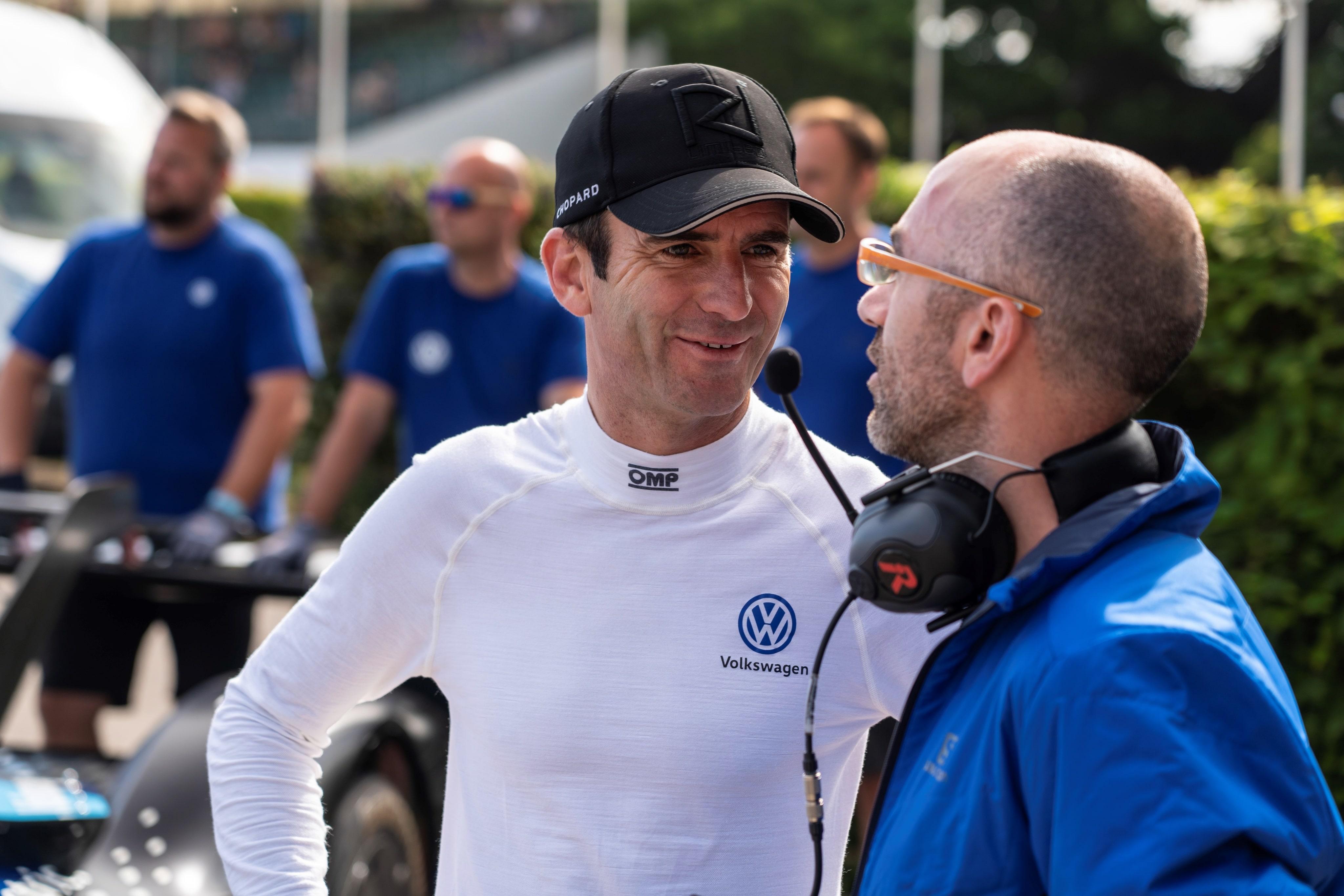 Volkswagen ID.R breekt formule 1 record