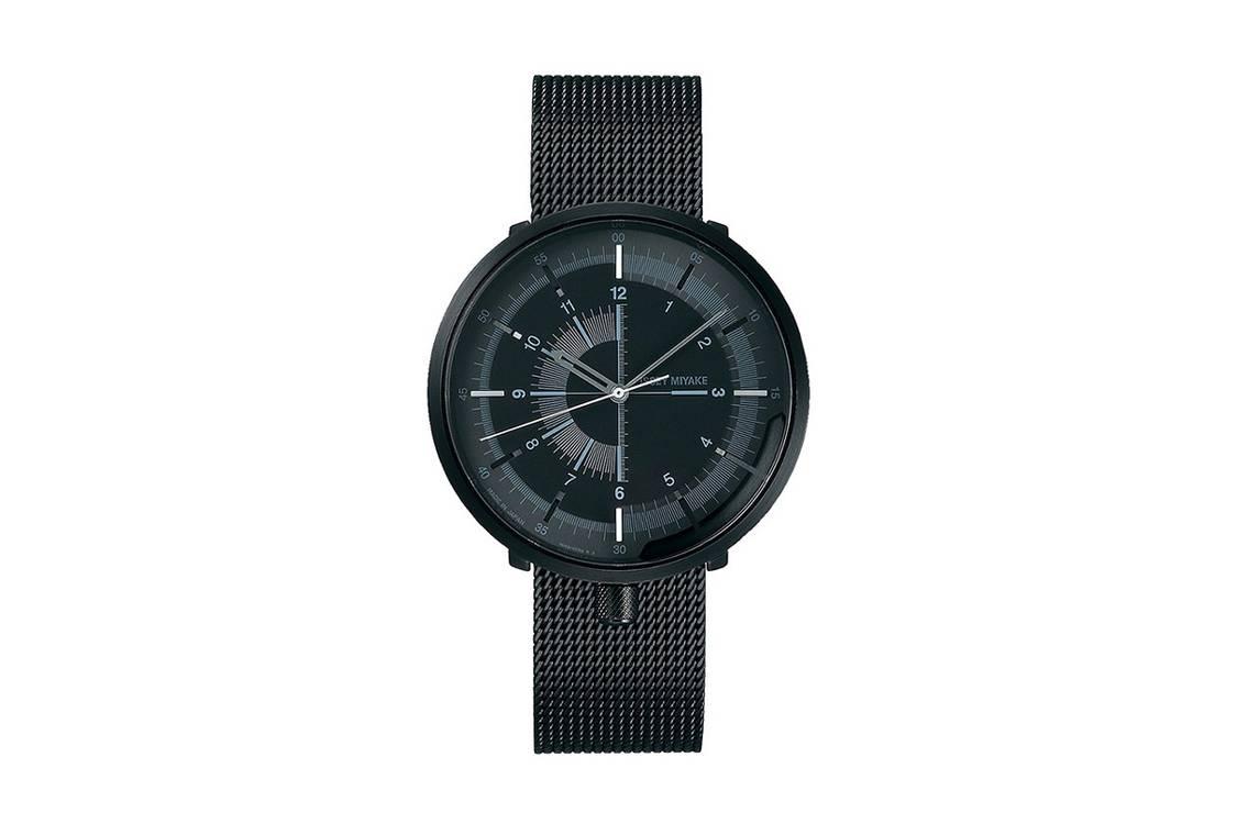 """Seiko x Issey Miyake """"1/6"""" Watch Capsule horloge"""