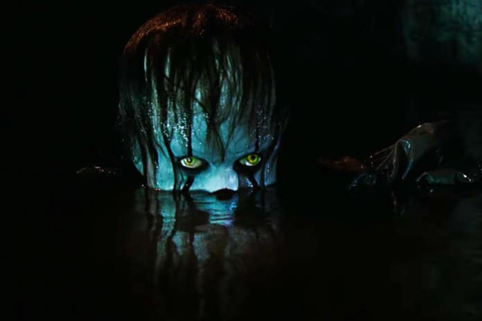 IT trailer pennywise the clown bioscoop