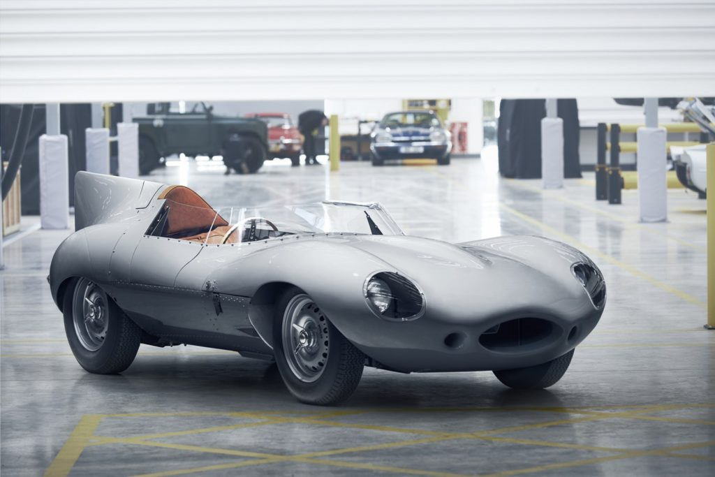 Jaguar D-Type keert terug