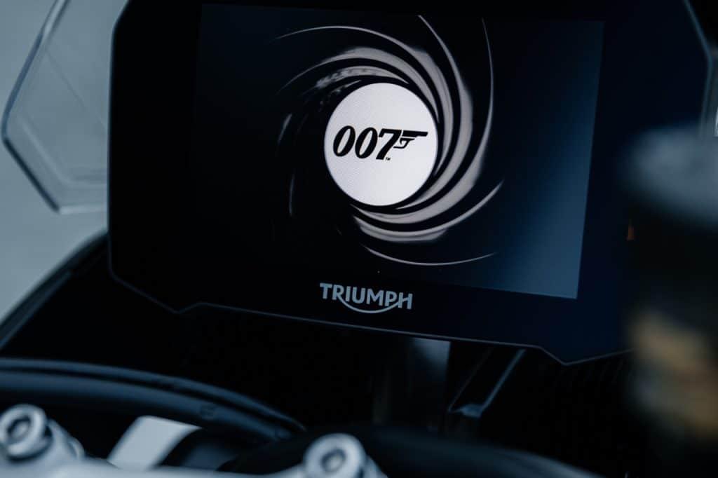 Triumph James Bond No Time to Die x Triumph Tiger 900 Rally Pro