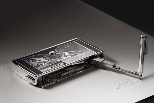 Jaquet Droz Signing Machine handtekening machine