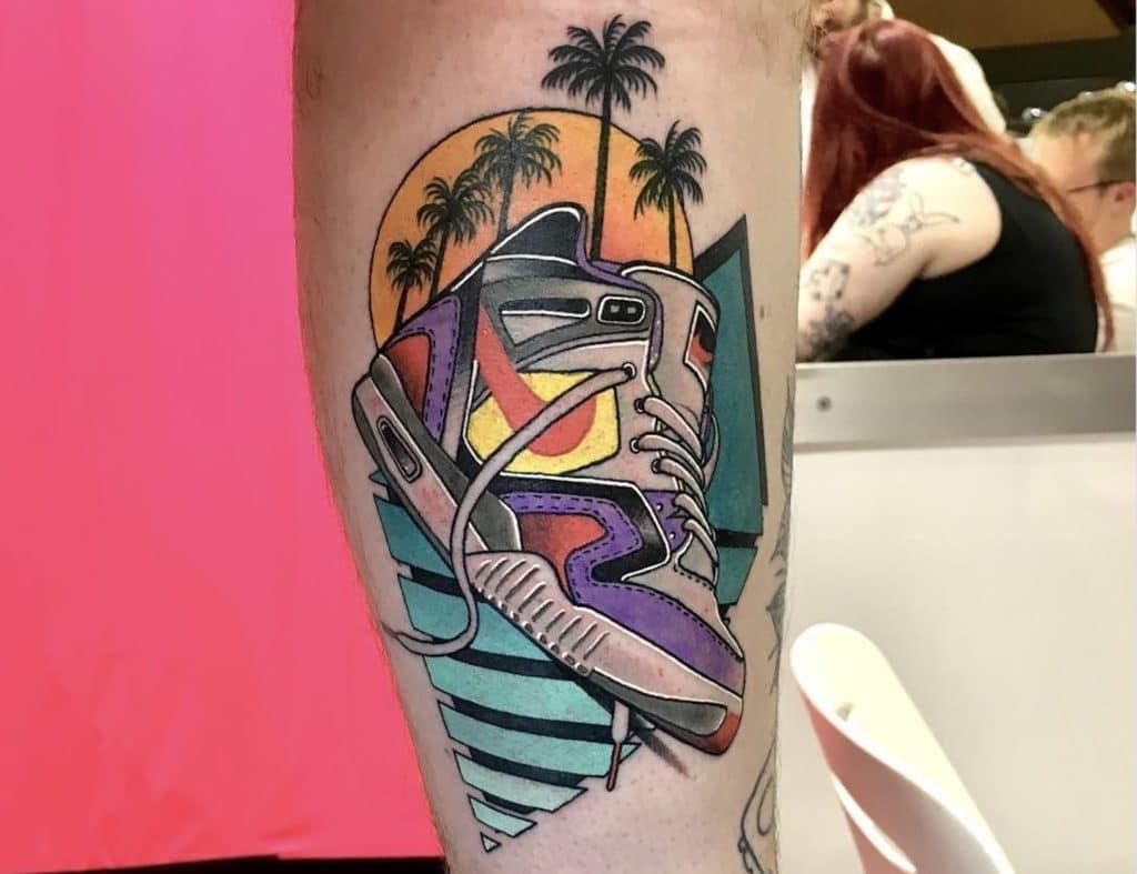 jaren 80 tattoos miami