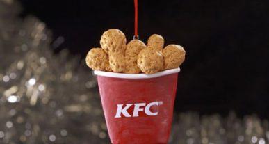 KFC kerstboom versiering