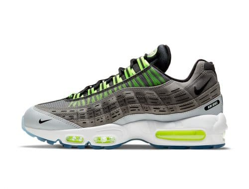 "Kim Jones x Nike Air Max 95 ""Black/Volt"""