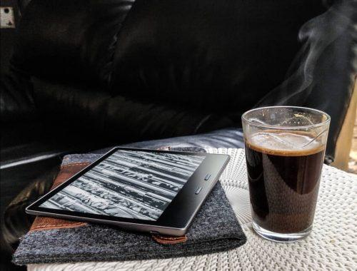Kindle Oasis recensie - 2017 9th generation)