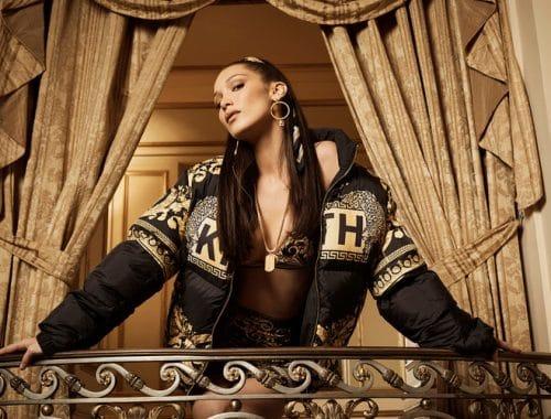 Bella Hadid voor KITH & Versace