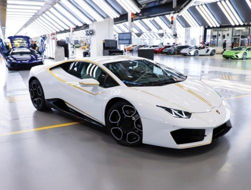 Lamborghini Huracàn RWD Coupè Paus veiling Vaticaan