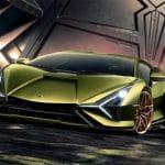 Lamborghini Sian hybride supercar