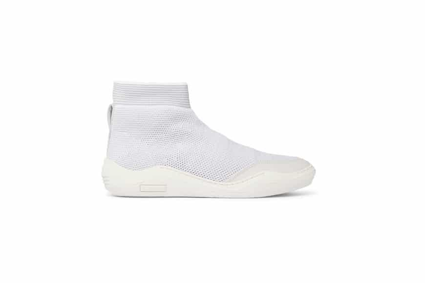 Lanvin Sock Sneaker - Lanvin Stretch-Knit High-Top