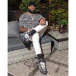 Off-White x Nike Blazer Black LEbron James