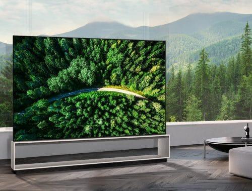 88-inch LG 8K OLED TV