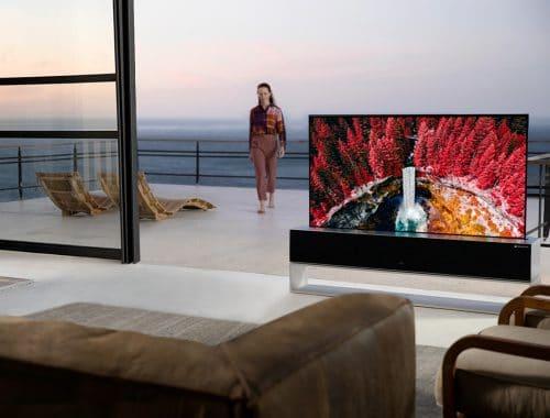 LG SIGNATURE OLED R oprolbare TV 4K