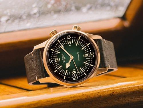 Longines Legend Diver Bronze horloge brons