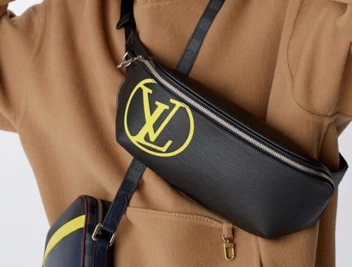 Louis Vuitton SS19 LV Epi Initials & Epi Patchwork Graphite