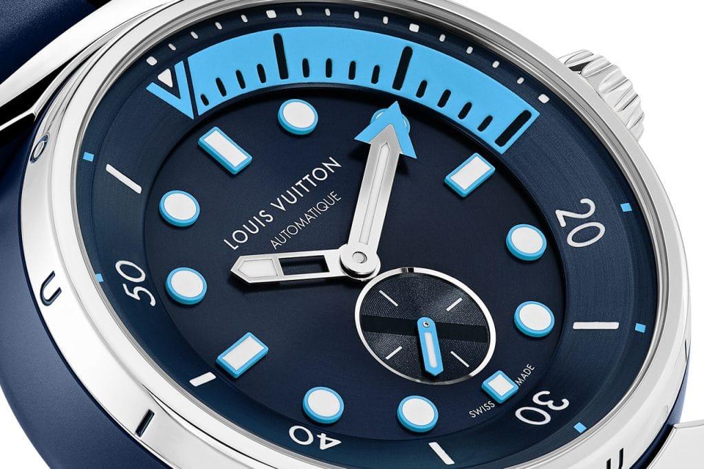 Louis Vuitton Street Diver Tambour horloge