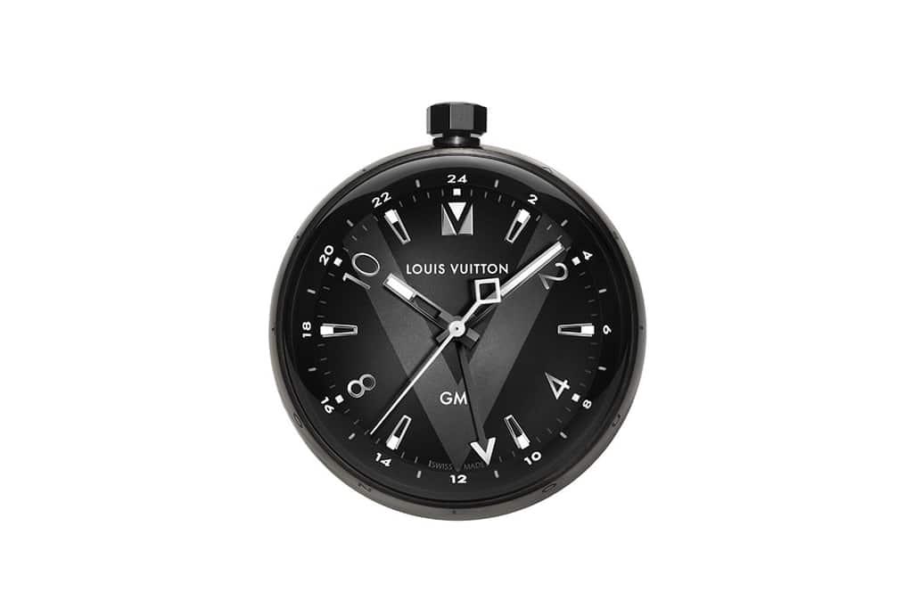 louis vuitton tafelklok - tambour table clock