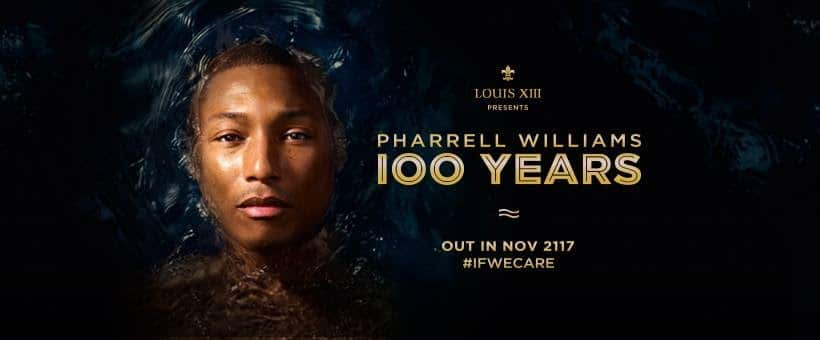 LOUIS XIII 100 years pharrell williams