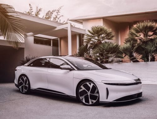 Lucid Air elektrische auto