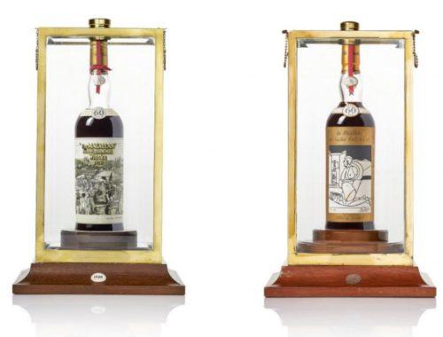 60 Jaar oude Macallan Whiskey