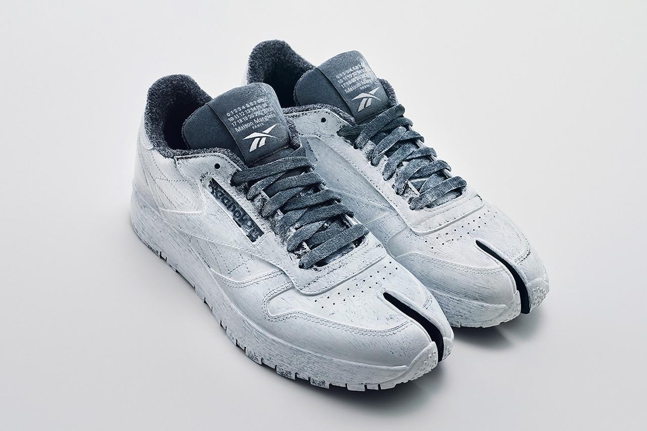 "Maison Margiela x Reebok Classic Leather Tabi ""Bianchetto"" sneaker"