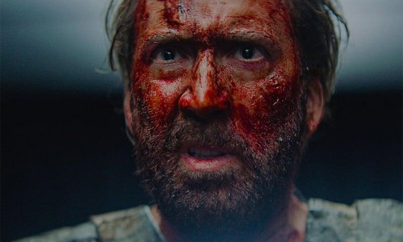 Mandy trailer Nicolas Cage