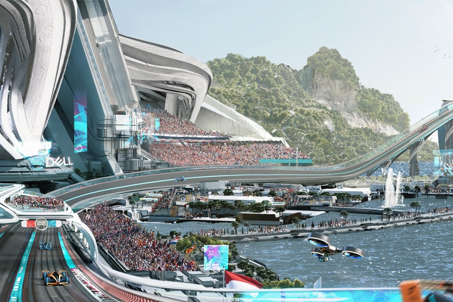 McLaren video Formule 1 2050