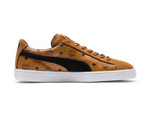 MCM & PUMA Suede Sneaker
