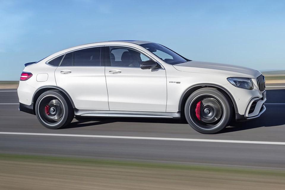 Nieuwe Mercedes Amg Glc 63 Is Zakelijk Met Een V8