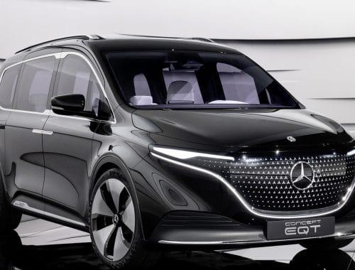 Elektrische Mercedes-Benz EQT elektrische T-Klasse
