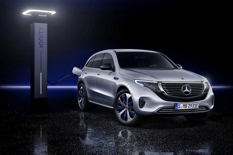 Mercedes-Benz EQC elektrische SUV