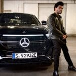 The Weeknd in nieuwe Mercedes-Benz EQC commercial